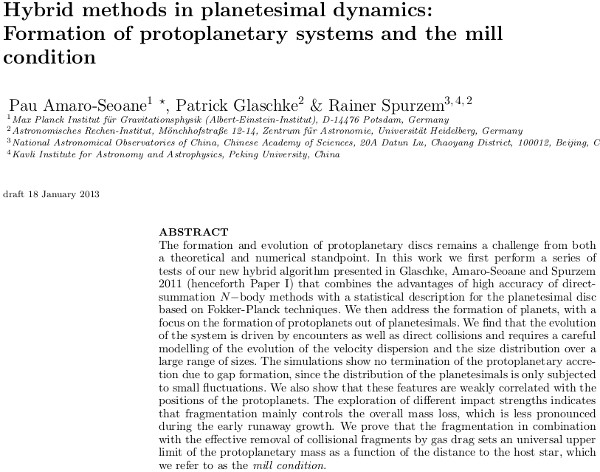 HybridMethodsPlanetesimalDynamicsII